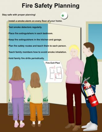 Fire Prevention Week Special   Emergency Evacuation Plan And
