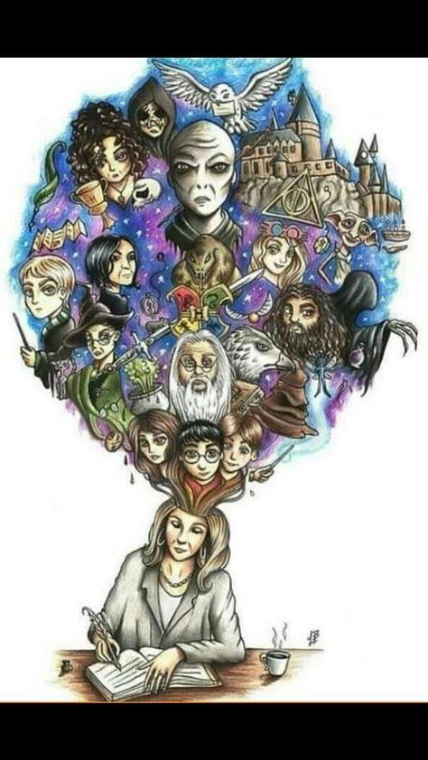 """Jesteś fanem sagi """"Harry Potter""""? To świetnie! W tej książce znajdzie… #losowo # Losowo # amreading # books # wattpad"""