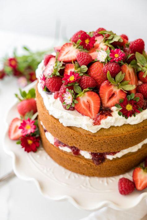 Sweet Laurel's Vanilla Cake (STL Version)