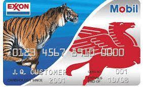 Exxon credit card payment login