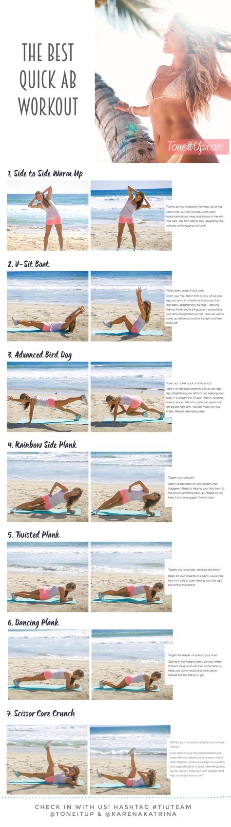 Summer abs in 7 minutes! http://leanwife.com/body-sculpting-fitness-workouts-for-women-101/