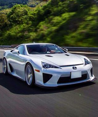 Lexus LFA Nurburgring Edition Painted In Metallic Silver Photo Taken By:  @frantheman7 On Instagram | Street Toys   Cars | Pinterest | Lexus LFA, Cars  And ...