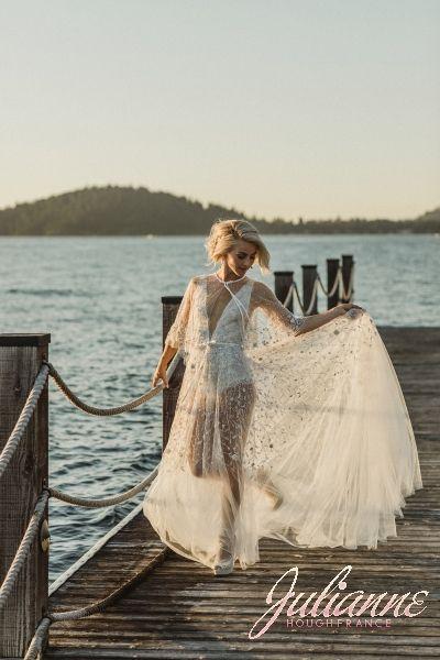 Julianne Hough Wedding Wedding Dresses Lakeside Wedding