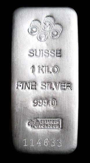 Pamp Suisse 1 Kilo Silver Bar 999 Fine Goldbullionbars Silver Bars Silver Bullion Gold Bullion Bars