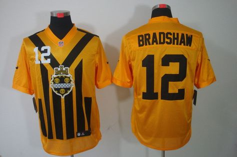 33a1920f2 youth 2012 new nfl jerseys pittsburgh steelers 12 terry bradshaw ...