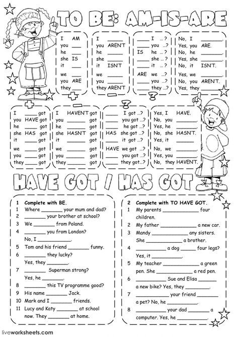 Verb To Be Interactive And Downloadable Worksheet You Can Do The Exercises Online Or Dow English Grammar Worksheets English As A Second Language English Verbs