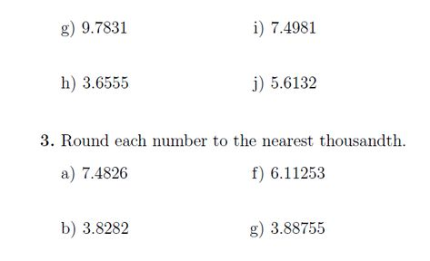Rounding Numbers A Worksheet On Rounding Numbers To The Nearest Tenth Hundredth Thousandth Ten Hundred And Thousand An Rounding Numbers Numbers Rounding Binary division worksheet with answers