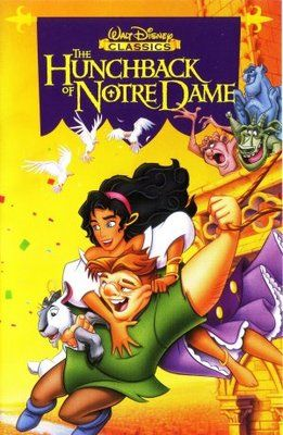 The Hunchback Of Notre Dame 1996 Movie Poster Tshirt Mousepad Movieposters2 Animated Movie Posters Good Animated Movies Movie Posters