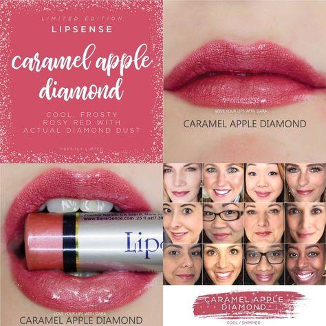 Caramel Apple Diamond LipSense - LIMITED EDITION - SeneGence - Full size #SeneGence