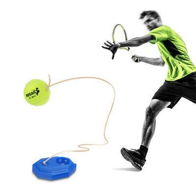 Portable Tennis Trainer Practice Tool Rebound Ball Exercise In 2020 Tennis Trainer Rebounding Tennis