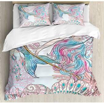 East Urban Home Mermaid Mystic Comforter Set Reviews Wayfair