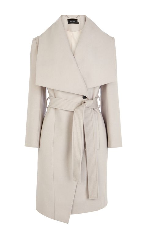 Belted coat | Luxury Women's outerwear | Karen Millen