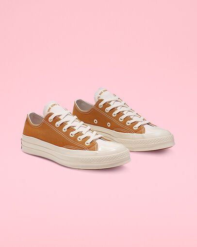 Chuck 70 Renew Canvas Low Top Wheat