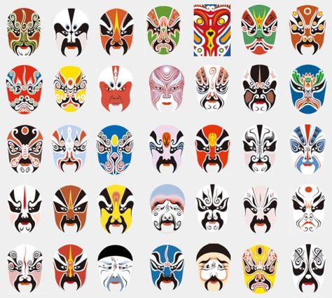 【川剧脸谱】Sichuan Opera masks