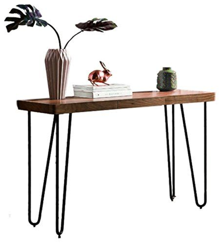 Super Very Narrow Entryway Table Console Hall Long Wood Metal Tall Creativecarmelina Interior Chair Design Creativecarmelinacom