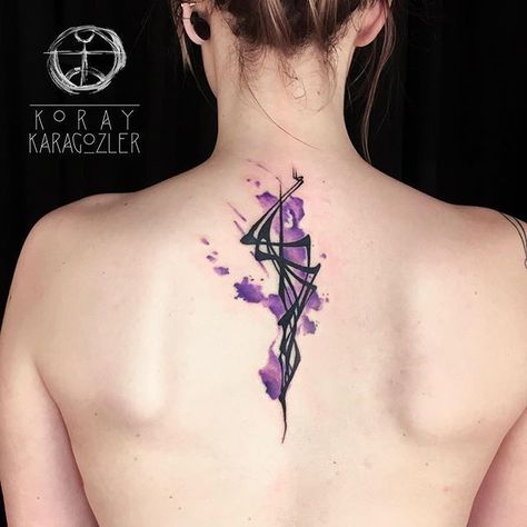 coolTop Watercolor tattoo - #watercolor #abstract #tattoo #watercolortattoo #abstracttattoo #tattooart #tatt...