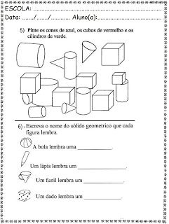 Blog Educacional Profª Jezaine Geometria Poligonos 4º Com