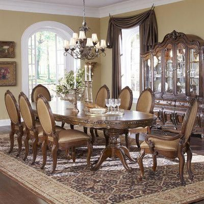 Michael Amini Lavelle Dining Table Tuscandecor Tuscan Decor In