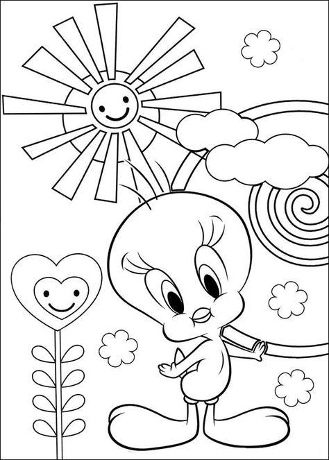 Sylvester Och Pip Malarbilder For Barn Teckningar Online Till
