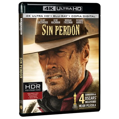Warner - Sin perdón (4K Ultra HD + Blu-Ray)
