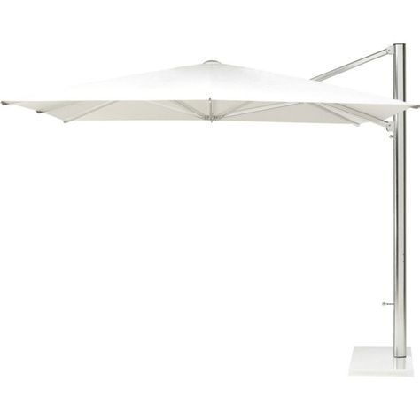 INDIAN OCEAN Cool Cantilever parasol 3x4m ($3,880) ❤ liked on Polyvore featuring home, outdoors, patio umbrellas, white, tilt patio umbrella, indian ocean, outdoor cantilever umbrella, white parasol and white patio umbrella