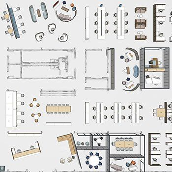 Discover Haworth S Floorplans Inspiration Floor Plans Space Planning Pablo Designs