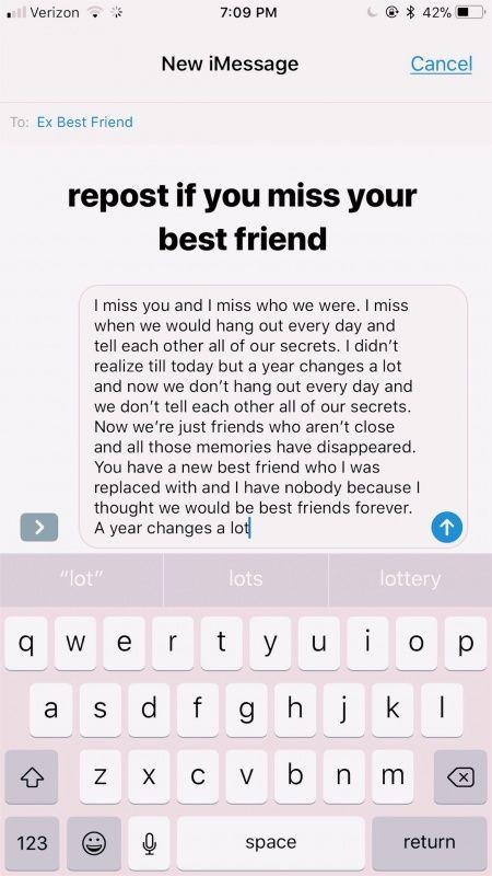 VSCO - saralowenfishh | Best friend quotes, Ex best friend ...