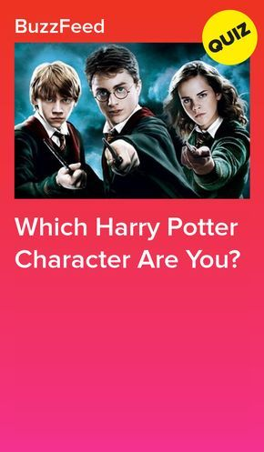 Which Harry Potter Character Are You Harry Potter Characters Harry Potter Buzzfeed Harry Potter House Quiz