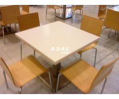 ترابيزات مطاعم كافتيريات فنادق شركات كوريان رخام صناعى مستورد Furniture Dining Table