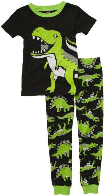 Carter/'s Infant Boys Green T-Rex Sweatshirt  NWT dinosaurs long sleeve