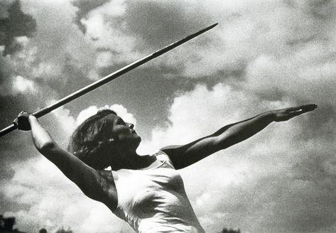 Метание копья. 1933 г.   Метание копья, Фотографии, Ретро ...
