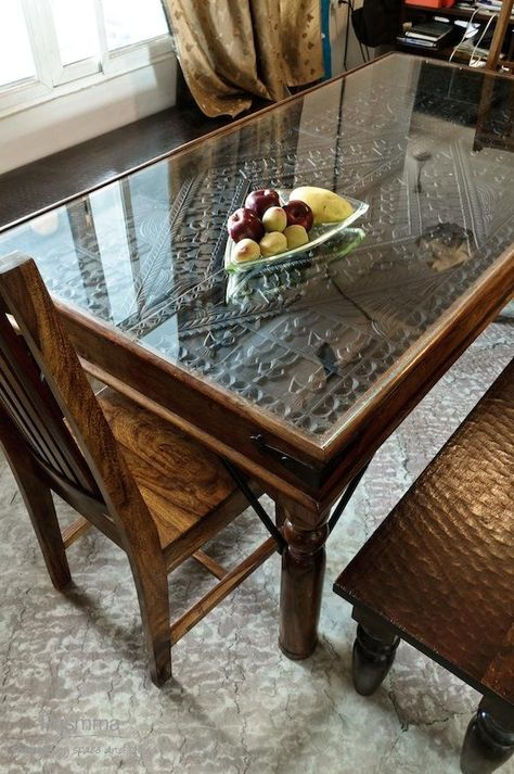 Antique Door As Dining Table Homes Architecture And