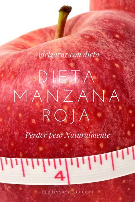 manzana roja app dieta
