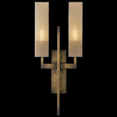 Fine Art Lamps Perspectives 2 Light Wall Sconce Finish Patinated Golden Bronze Luxury Wall Lights Wall Lighting Design Fine Art Lamps