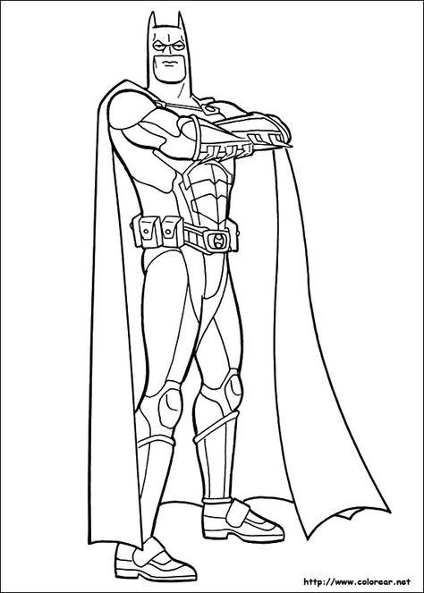 Batman Dessin A Colorier Et Imprimer Coloriage Batman Coloriage