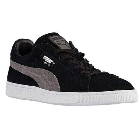 PUMA Men's Suede Classic+ Black/Steel Gray/Puma Silver Sneaker 6.5 D (M) -  http://buyonlinemakeup.com/puma/6-5-d-m-us-puma-suede-classic-causal-bas…