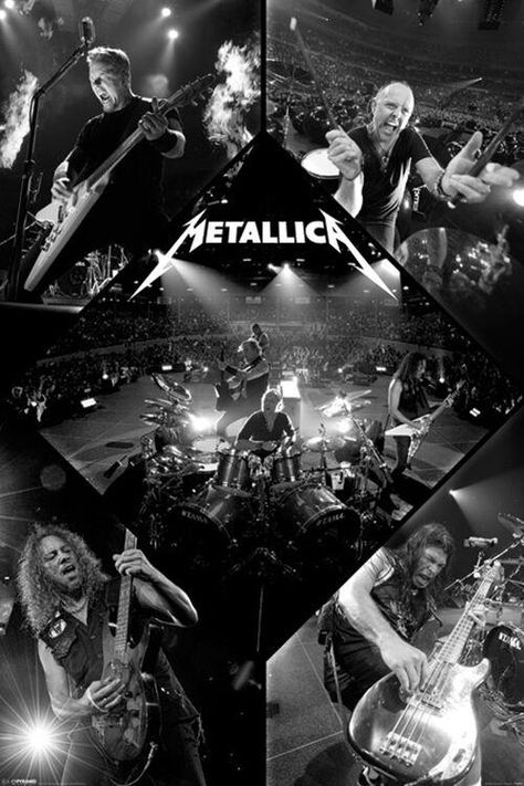 Metallica - Live - Poster
