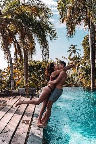 Ideas For Affordable Honeymoon Packages ★ affordable honeymoon packages punta cana happy couple together near pool