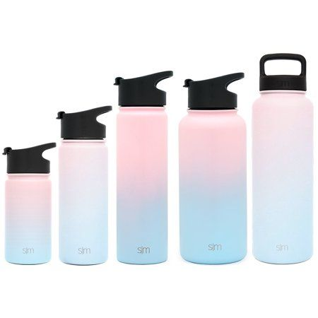 Flask It Wide Mouth Double Walled Vacuum Insulated Stainless Steel Water Bottle