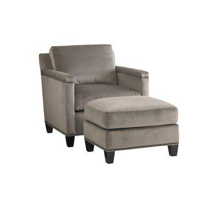 Safavieh Miranda Arm Chair And Ottoman Perigold Chair