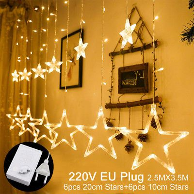 Xmas Led Lights Card Photo Clip 3xaa Battery Christmas Party Decor New Year Gift Ebay Led Christmas Lights Outdoor Christmas Lights Led Christmas Decor