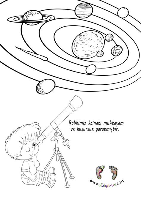 Kainati Taniyalim Boyama 4 6 Yas