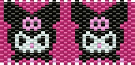 Newest Pony Bead Patterns Pony Bead Patterns, Kandi Patterns, Peyote Stitch Patterns, Beaded Bracelet Patterns, Beading Patterns, Kandi Mask, Kandi Cuff, Kandi Bracelets, Fuse Beads