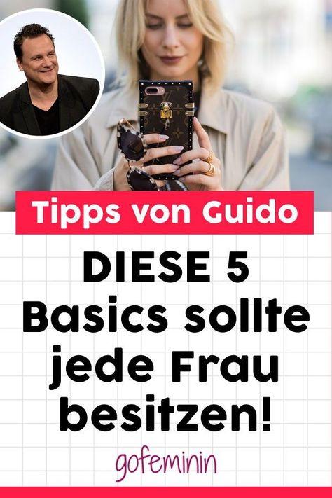 Guido sagt: Diese 5 Teile sollte JEDE Frau im Schrank haben - #Diese #Frau #Guido #haben #im #jede #sagt #Schrank #sollte #Teile