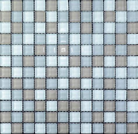 Mosaico in vetro Blacksplash multi-colore cristallo mosaico ...
