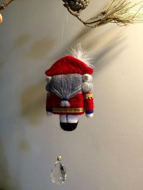 Needle felted doll Waldorf inspired Nutcracker Art doll | Etsy