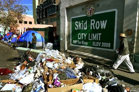 Image result for skid row los angeles 2018