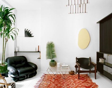 Pastel Interieur Barcelona : At square feet this pastel apartment in barcelona is tiny yet
