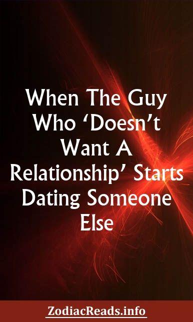 guy starts dating someone else
