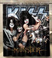 New Kiss Band Custom Polyester
